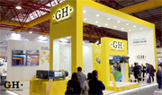 GH stand at EMAF 2018