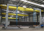 GH CRANES & COMPONENTS with Fast Rotator machine FFR3015