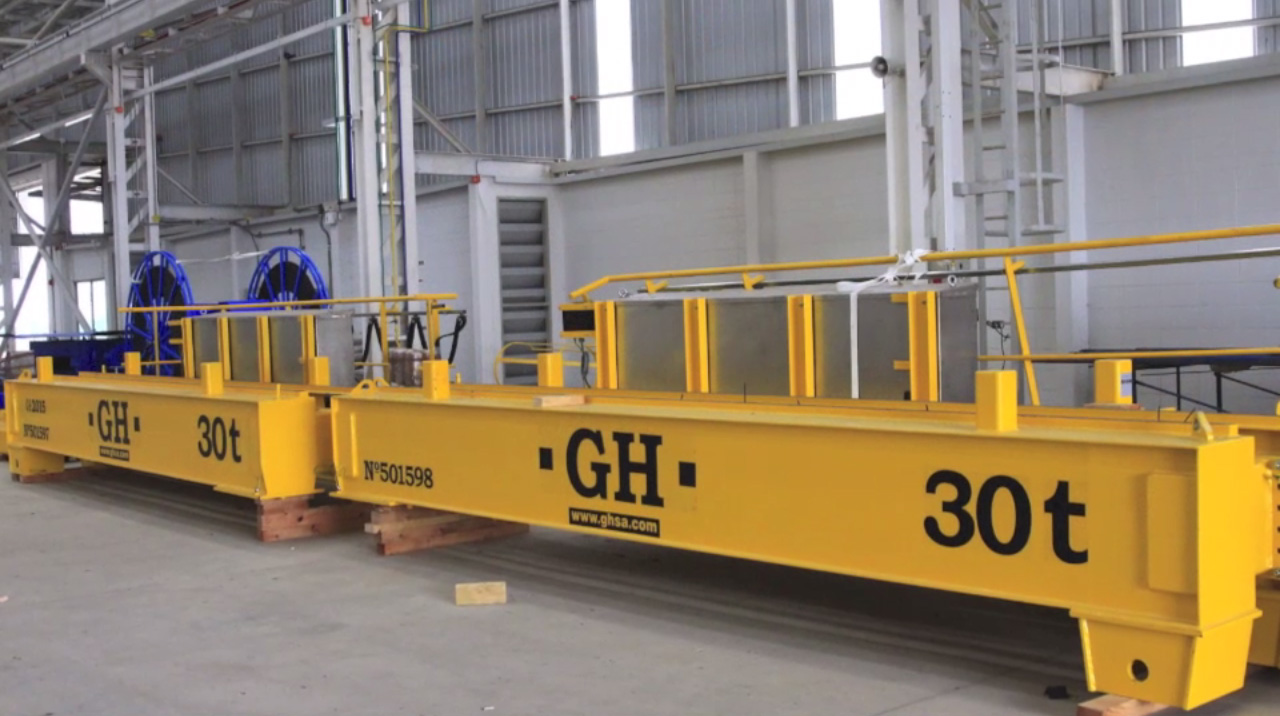 Corporative video of GH CRANES & COMPONENTS in Thailand